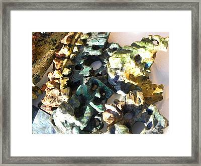 Shattered Mirrors Framed Print by Michael Schomig