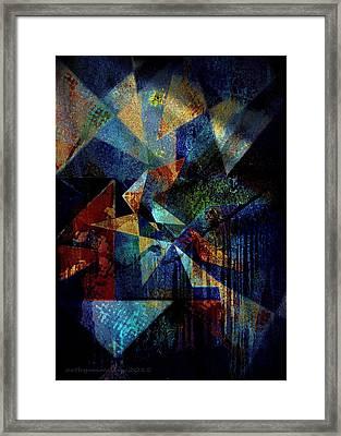 Shattered Reflections Framed Print
