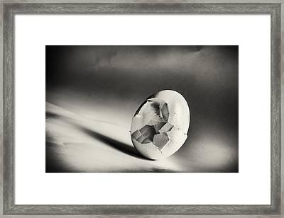 Shattered Remnant Framed Print