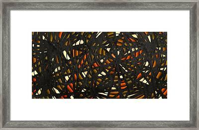 Shattered  Framed Print by Shabnam Nassir
