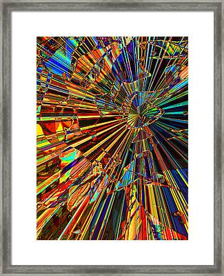 Shattered Framed Print by Wendy J St Christopher