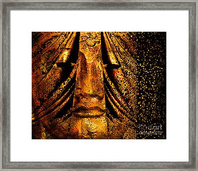 Shattering The Illusion Of Eternity  Framed Print