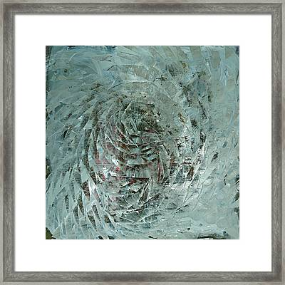Shattering The Illusions Framed Print by David  Seacord