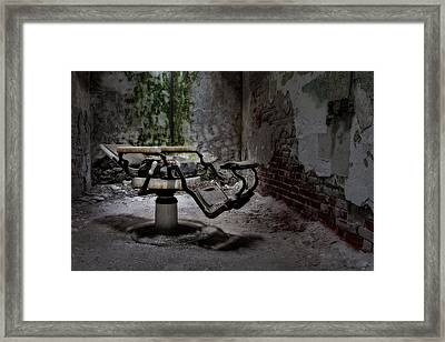 Shave And A Haircut Framed Print by Susan Candelario