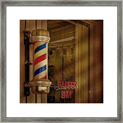 Shave And A Haircut Two Bits  Framed Print