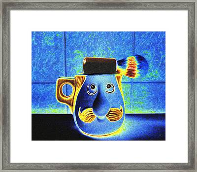 Shaving Mug Framed Print