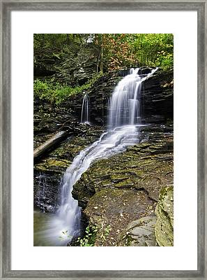 Shawnee Falls Framed Print