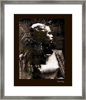 She 3 Framed Print by Xoanxo Cespon