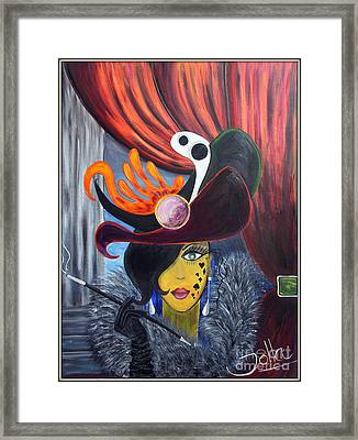 She Devil..   Framed Print by Jolanta Anna Karolska