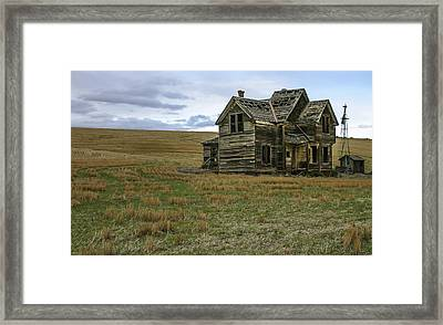 She Didnt Like The Country Framed Print by Jean Noren