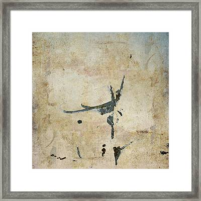 She Flies Framed Print by Carol Leigh