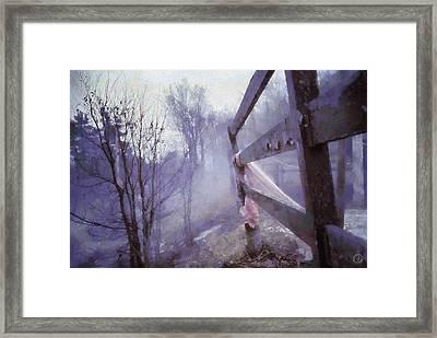 She Forgot Framed Print by Gun Legler