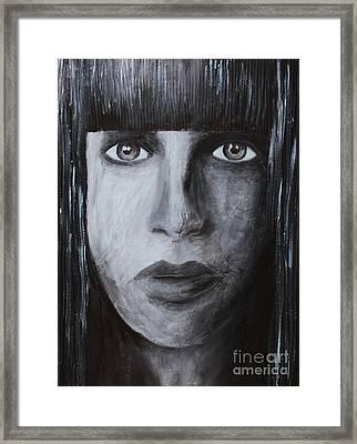 She Framed Print by Home Art