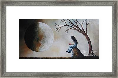She Misses You By Shawna Erback Framed Print by Shawna Erback