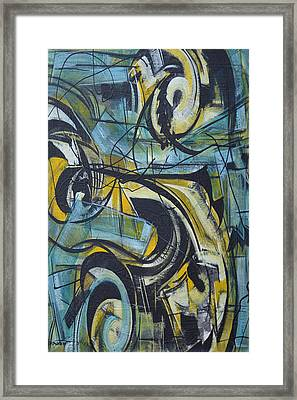 She Moves Me Vol1 Framed Print by Hasaan Kirkland