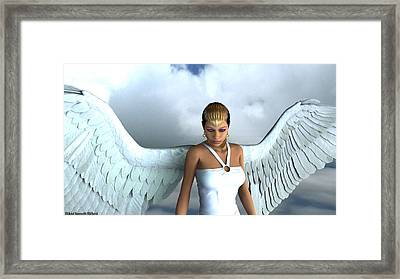 She Of Radiance Framed Print by Aeabia A