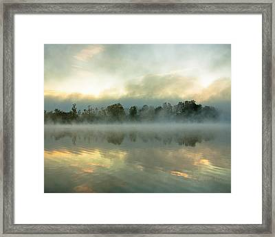 Framed Print featuring the photograph She Rises by Tom Cameron