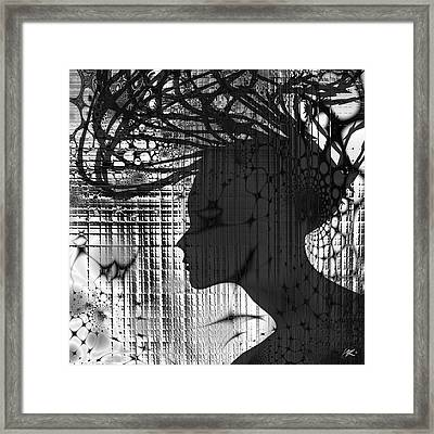 She Rocks Framed Print