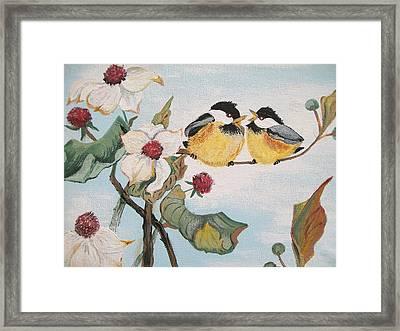 She Said Framed Print by Sharon Duguay