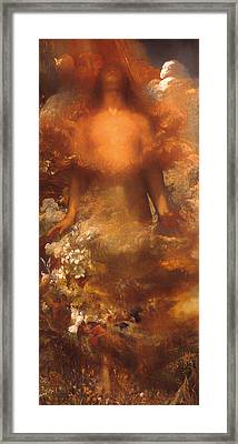She Shall Be Called Woman Framed Print by Mountain Dreams
