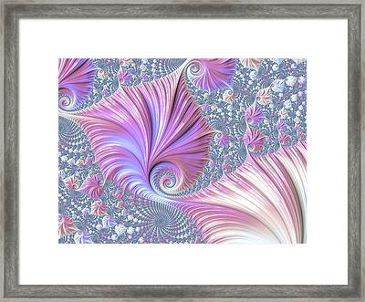 Framed Print featuring the digital art She Shell by Susan Maxwell Schmidt