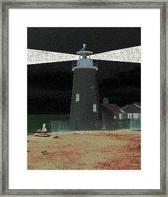 She Waits Framed Print by Cliff Wilson