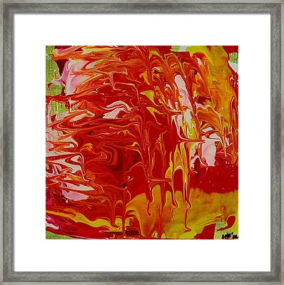 She Walked Away Framed Print