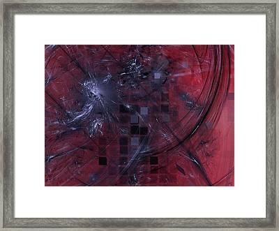 She Wants To Be Alone Framed Print by Jeff Iverson