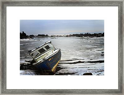 She Will Sail No More Framed Print