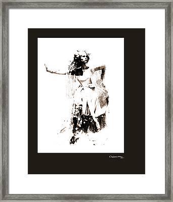 She Framed Print by Xoanxo Cespon