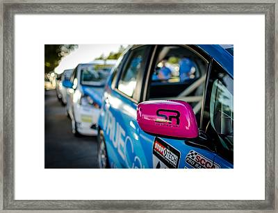 Shea Racing Framed Print by David Morefield