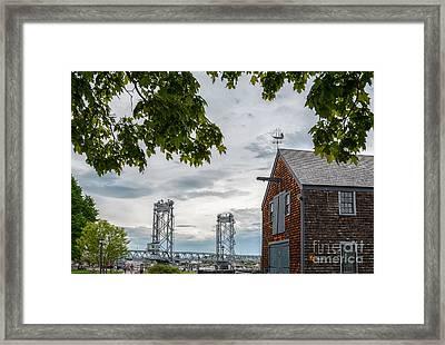 Sheafe Warehouse Framed Print by Scott Thorp