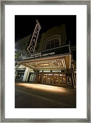 Sheas Theater Framed Print
