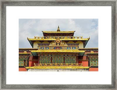 Shechen Monastery In Kathmandu Framed Print