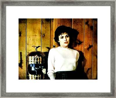 Shed Been Murdered Framed Print by Luis Ludzska