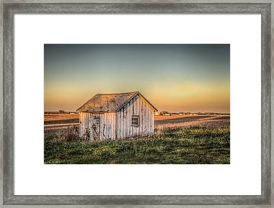 Shed Some Light Framed Print