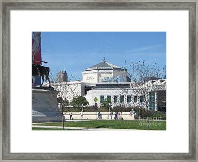 Framed Print featuring the photograph Shedd Aquarium-2 by Kathie Chicoine