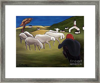 Sheep Herder  Framed Print