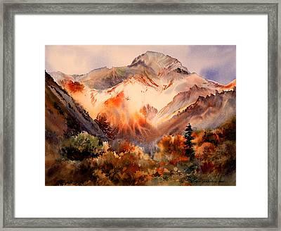 Sheep Mountain  Framed Print by Vladimir Zhikhartsev