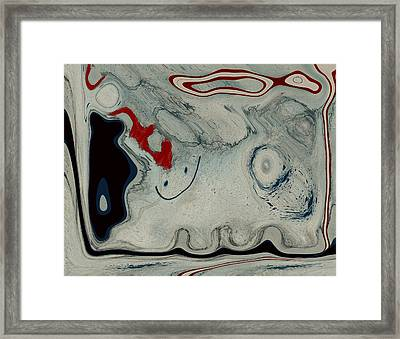 Sheep Or Not So - Bl04h01 Framed Print by Variance Collections