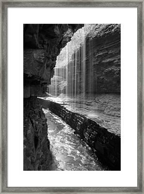 Sheer Elegance Framed Print by J Allen