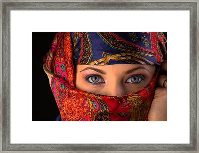 Sheherazade Framed Print by Mihai Piltu
