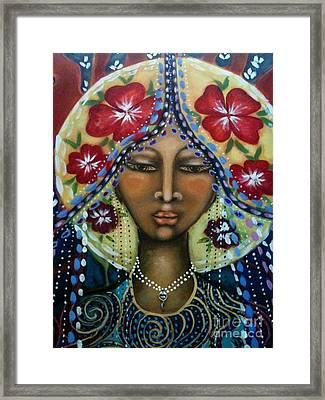 Shekinah Rising  Framed Print by Maya Telford
