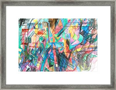 Shelach Framed Print