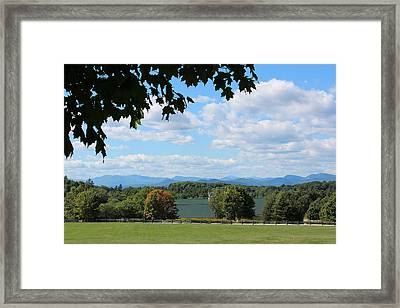 Shelburne Vermont Framed Print by William Alexander