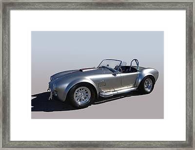 Shelby Bullet Framed Print by Bill Dutting