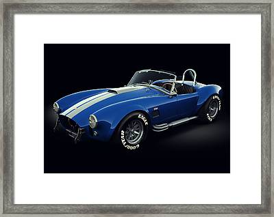 Shelby Cobra 427 - Bolt Framed Print by Marc Orphanos