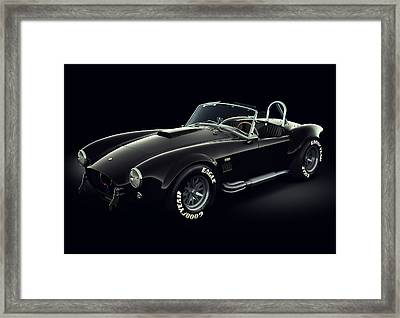 Shelby Cobra 427 - Ghost Framed Print by Marc Orphanos