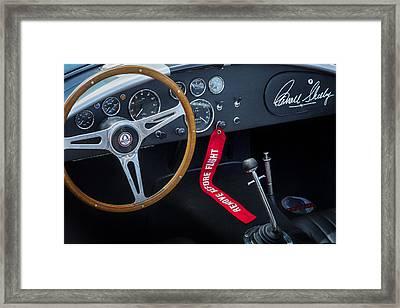 Shelby Cobra Framed Print by Bill Wakeley