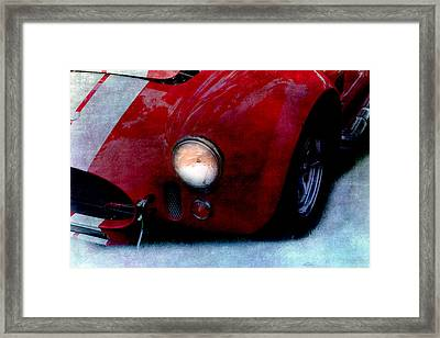 Shelby Cobra Framed Print by Gunter Nezhoda